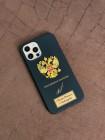 Чёрный чехол с гербом России Mobcase 1528 для iPhone 12 Pro Max