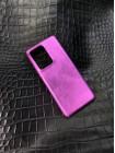 Пурпурный кожаный чехол Mobcase 1535 для Samsung Galaxy S21 Ultra