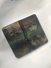 Чехол-книжка из кожи питона с короной из серебра Mobcase 1548 для iPhone XR