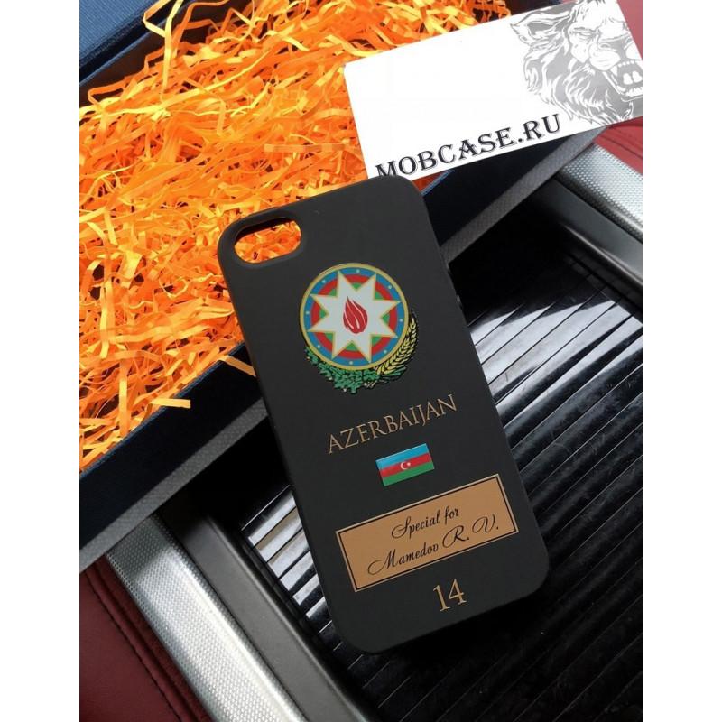 Персональный именной чехол с принтом, гербом Азербайджана Mobcase 636 для iPhone