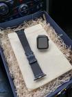 Синий, кожаный ремешок для Apple Watch, Mobcase 1080