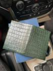 Зелёная обложка для автодокументов и паспорта Mobcase 1204