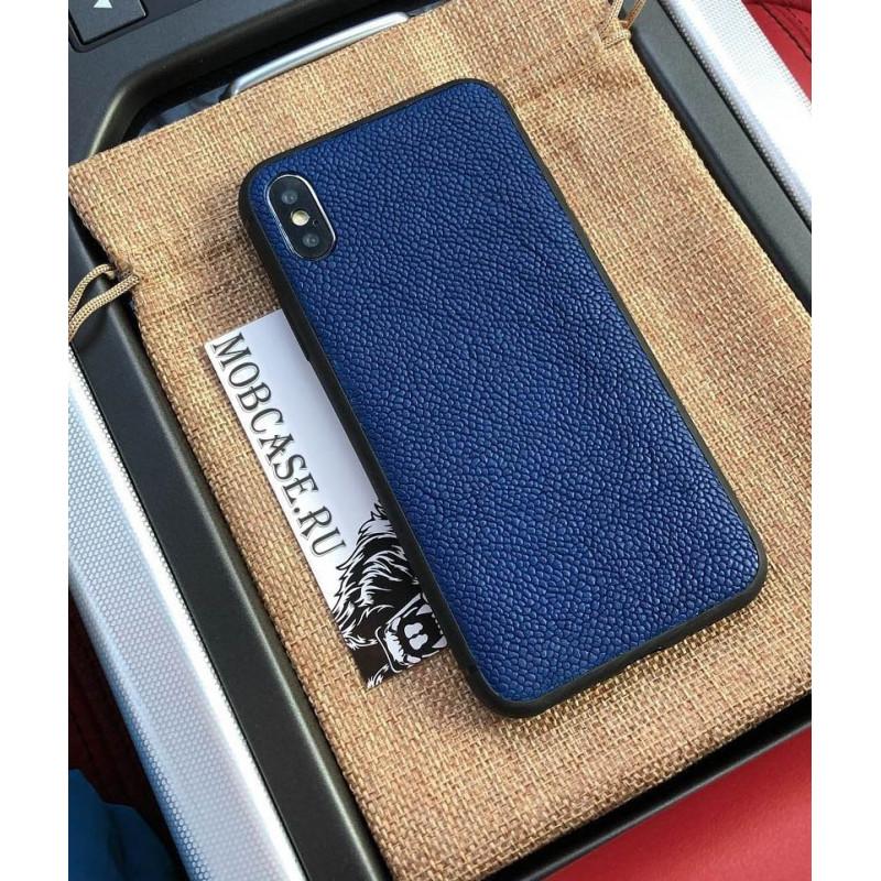 Эксклюзивный, кожаный чехол с выделкой Кевиар Mobcase 620, для iPhone