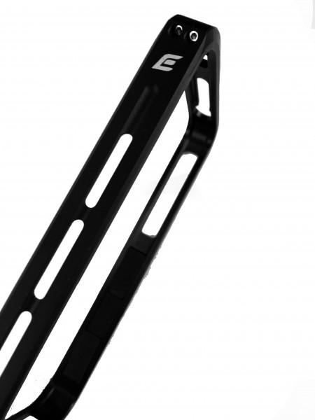 Чехол, бампер, Element Case, Vapor Pro, металлический, чёрный на iPhone 4, 4s