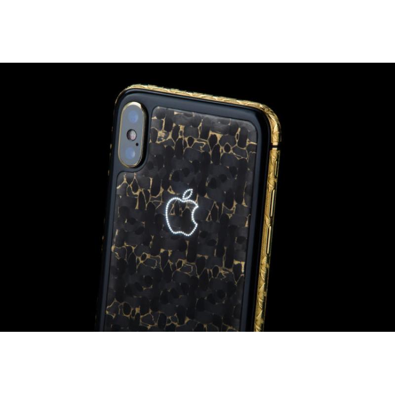 Элитный, дорогой iPhone XS, Golden Wave