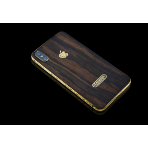 Элитный, дорогой iPhone XS, Black wood