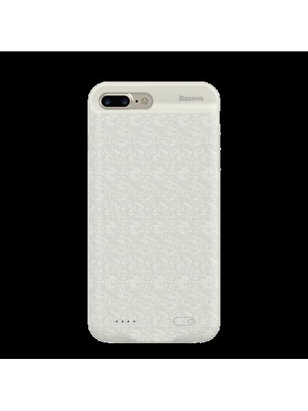 Чехол аккумулятор Baseus, Белый, на iPhone 7 Plus