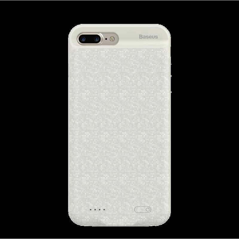Чехол аккумулятор Baseus, Белый, на iPhone 7 Plus — Power Bank Case