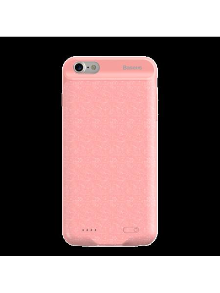 Чехол аккумулятор Baseus, розовый, для iPhone 7