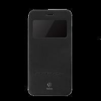 Чехол книжка Baseus Simple Leather Чёрный на iPhone 7 — Кожаный