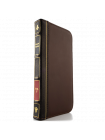 Чехол книжка BookBook на iPhone 7 — Коричневая