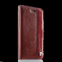 Чехол книжка красная Pierre Cardin на iPhone 7 — Премиум качество