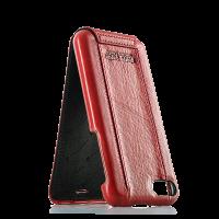 Чехол кожаный Pierre Cardin, flip red, на iPhone 7 — Премиум | Красный