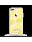 Чехол накладка Kingxbar Морской цветок на iPhone 7 plus — Swarovski