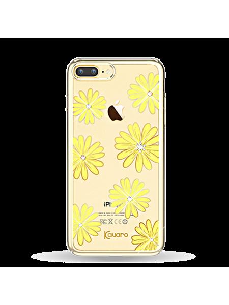 Чехол накладка Kingxbar, Морской цветок, на iPhone 7 Plus — Swarovski