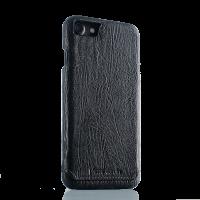 Чехол накладка Pierre Cardin черная на iPhone 7 — Премиум