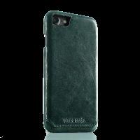 Чехол накладка, Pierre Cardin, Зелёная, на iPhone 7 — Премиум, кожаная