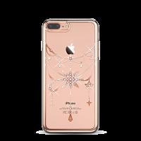Чехол накладка Kingxbar Twinkling Розовая Золотая звезда на iPhone 7 Plus — Swarovski