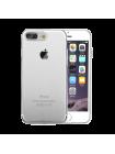 Чехол накладка силиконовая Baseus Simple Прозрачная на iPhone 7 Plus — Тонкая