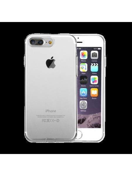 Чехол накладка силиконовая Baseus, Simple, Прозрачная, на iPhone 7 Plus — Тонкая