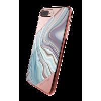 Чехол накладка X-Doria Revel Lux Золотая Роза на iPhone 7 Plus — Прикольная