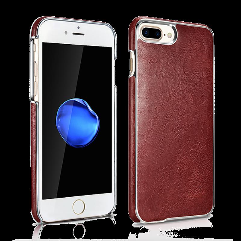 Чехол накладка Xoomz, Electroplating, Красная, на iPhone 7 Plus — Vintage Genuine