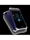 Чехол противоударный Ginmic, Solies Silver Blue, на iPhone 7 — Синий