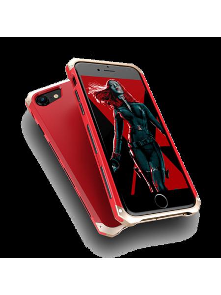 Чехол противоударный Ginmic, Solies, Красный, на iPhone 7
