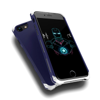 Чехол противоударный Ginmic Solies Синий на iPhone 7 Plus