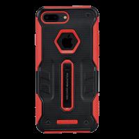 Чехол противоударный Nillkin Defender 4 Красный на iPhone 7 Plus — Антиударный