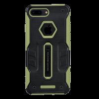 Чехол противоударный Nillkin Defender 4 зелёный на iPhone 7 Plus — Прочный