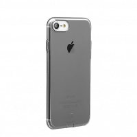 Чехол силиконовый Baseus тонкий чёрный на iPhone 7
