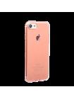 Чехол силиконовый Baseus, тонкий, розовый, на iPhone 7 — Прозрачный