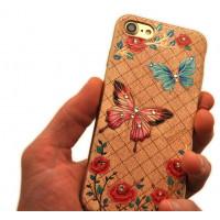 Чехол накладка Kingxbar Fairy Land Бабочка для iPhone 8 — Swarovski