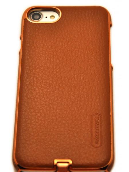 Чехол для беспроводной зарядки Nillkin, N-Jarl, Коричневый, на iPhone 8