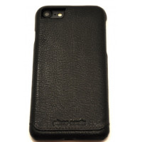Чехол накладка Pierre Cardin, черная, на iPhone 8