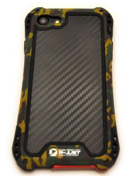 Чехол противоударный R-Just Amira милитари на iPhone 8