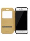 Чехол книжка Baseus, Simple Leather, чёрный, на iPhone 7 — Кожаный
