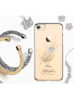 Чехол накладка Kingxbar Gold Оперение на iPhone 7 — Swarovski