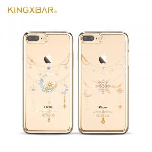 Чехол накладка Kingxbar, Twinkling, Золотая Луна, на iPhone 7 Plus