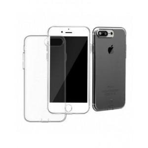 Чехол накладка силиконовая Baseus Simple Чёрная на iPhone 7 Plus