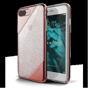 Чехол накладка X-Doria, Revel Lux, Розовое Золото, на iPhone 7 Plus — Необычная