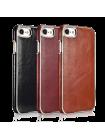 Чехол накладка Xoomz, Electroplating, коричневая, на iPhone 7 — Ультратонкая