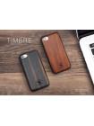 Чехол накладка деревянная POLO & RACQUET CLUB Падук на iPhone 7 Plus — Изящная