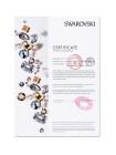 Чехол накладка Kingxbar, Twinkling Розовая, Золотая звезда, на iPhone 7 Plus — Swarovski
