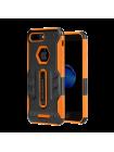 Чехол противоударный Nillkin Defender 4 Оранжевый на iPhone 7 Plus — Силиконовый