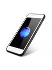Чехол накладка iCarer, Shenzhou, Коричневая, на iPhone 7 Plus — Кожаная