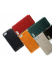 Чехол накладка Pierre Cardin, Коричневая, на iPhone 7 Plus — Кожаная