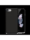 Чехол накладка Nillkin Carbon Fiber на iPhone 7 — Карбоновая чёрная