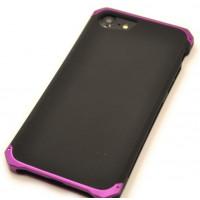 Чехол противоударный Ginmic Solies фиолетовый на iPhone 7 — Прочный